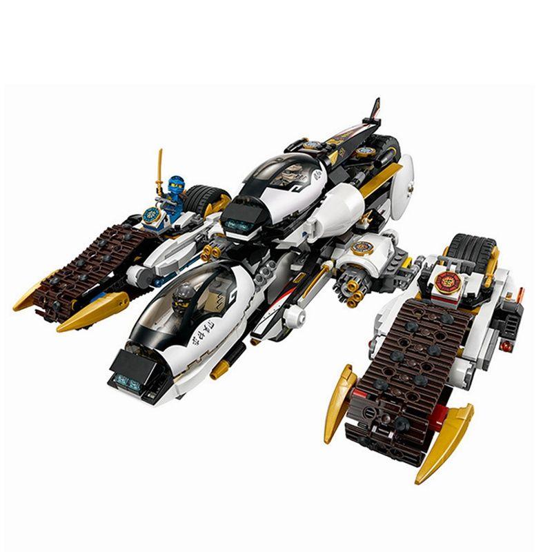 Upgraded Ninjagoes Ultra Stealth Raider 1167Pcs Bricks Ninja Building Blocks Toys for Children Compatible Legoing Brick Toy Gift