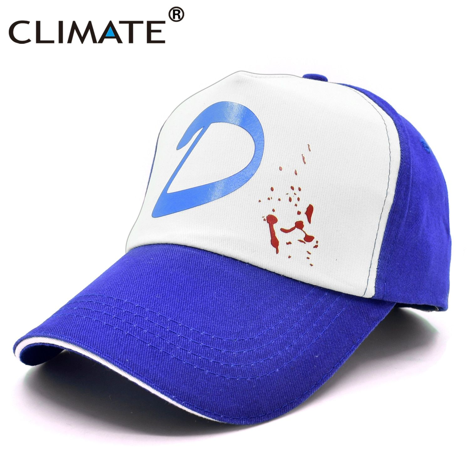 CLIMATE Clementine The Walking Dead Game Cap Clementine Hat Cap Clem's Cosplay Trucker Cap Girl Coser Zombie Killer Cool Caps