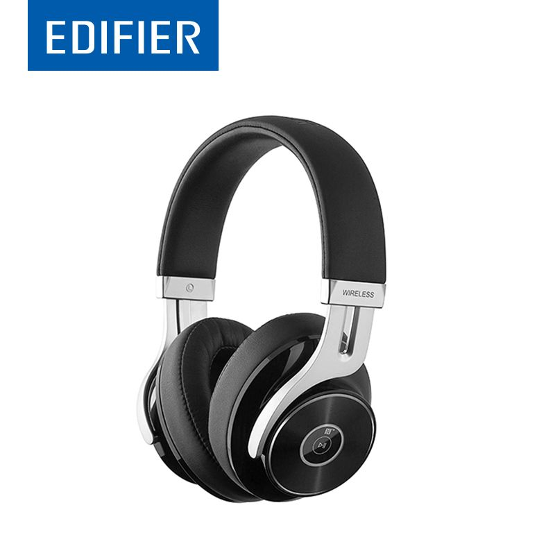 EDIFIER W855BT Bluetooth Headphones HIFI Over-Ear Noise <font><b>Isolation</b></font> Bluetooth 4.1 Headphone With Microphone Support NFC Apt-X