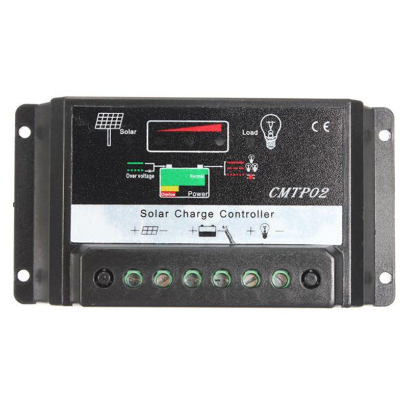 New Model 30A MPPT Solar Panel Battery Regulator Charge Controller 12V/24V Auto