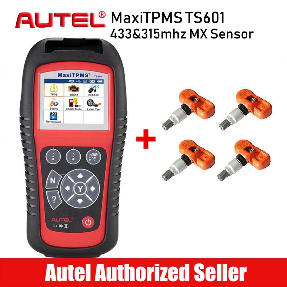 AUTEL MaxiTPMS TS601 TPMS Reifen Druck Aktivator Komplette TPMS Aktivierung Programmierung Werkzeug Reifen Überwachung System Scanner Werkzeuge