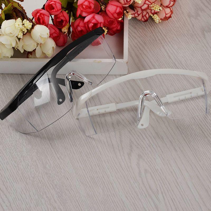1 Stück Anti UV Gläser für UV Gel Nail art Schwarz/Weiß Großen Rahmen Nagelkunstmanikürewerkzeug (gelegentliche Farbe)