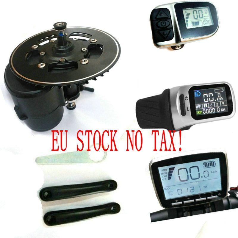 L'UE aucun impôt 36/48 V/52 V 250 w/350/500 W/750 W TONGSHENG TSDZ2 Moteur Central Mid Drive Moteur eBike Kit de Capteur De Couple