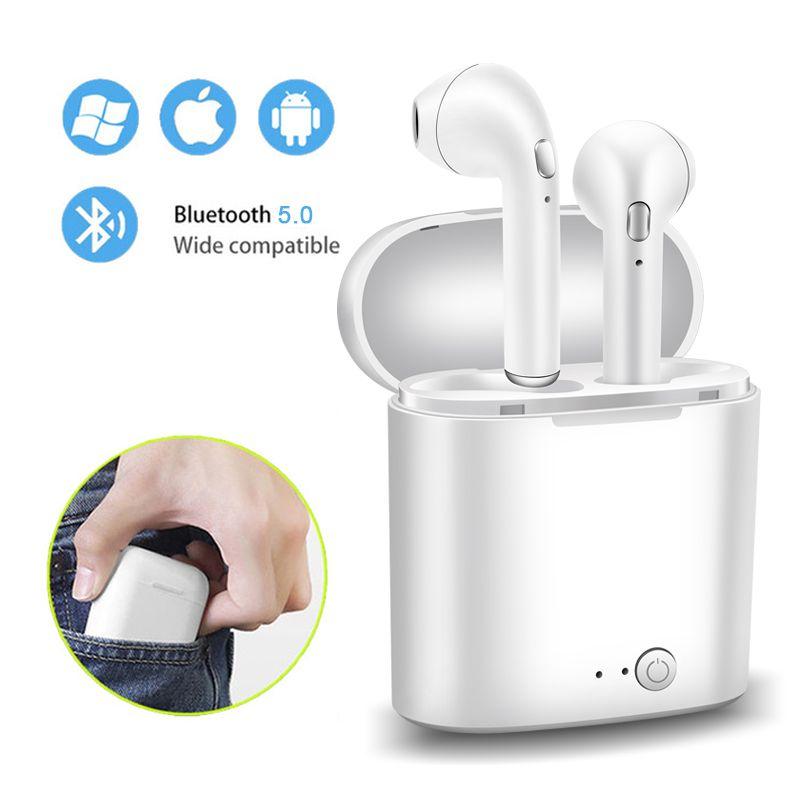2019 LIGE Neue TWS Mini Bluetooth 5,0 Kopfhörer Kopfhörer Stereo Bass Wireless Headset Ohrhörer mit Mic für Telefon xiaomi Samsung