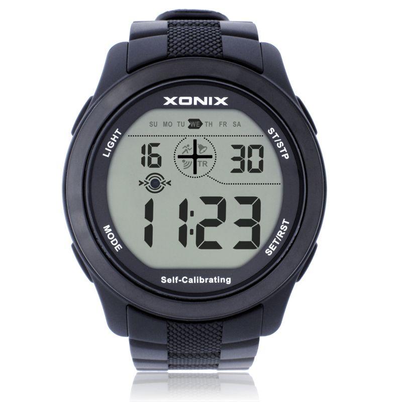 Xonix самокалибрующийся Интернет Для женщин спортивные Часы, 100 м Водонепроницаемый Радио волна самокалибрующийся цифровые часы Montre Homme