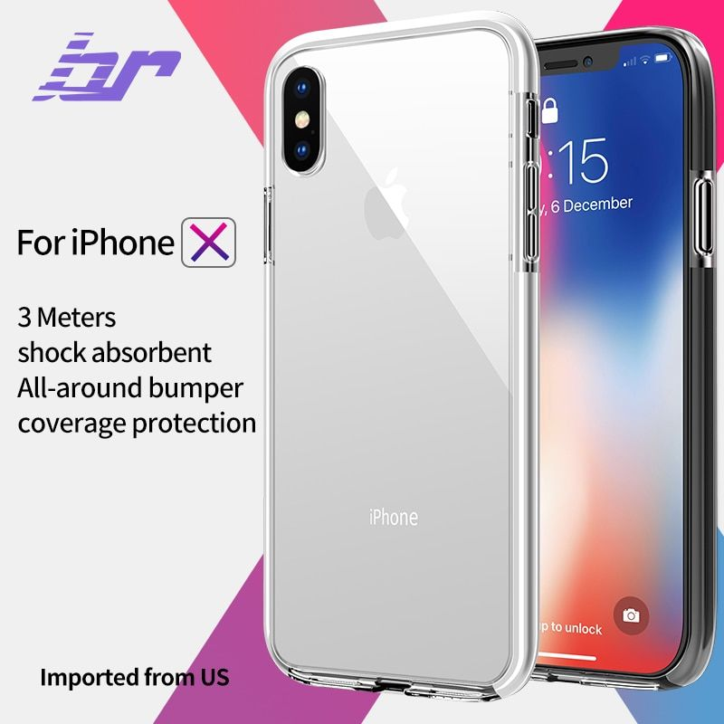 BR Armor Anti-knock Case for iPhone 7 8 Plus X Army Drop Standard Shockproof Cases For iPhone X 8 7 Plus Soft TPU TPE Back Cover