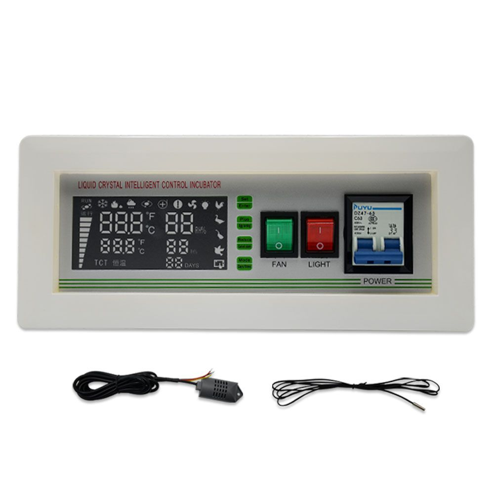 New Arrival Full automatic egg incubator Controller XM-18SD Thermostat with Temperature Humidity Sensors for sale