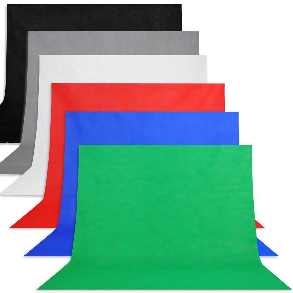 100*160 cm Non tissé Photo toile de fond toile de fond tissu Non tissé noir pour Studio photographie vidéo prise de vue et TV