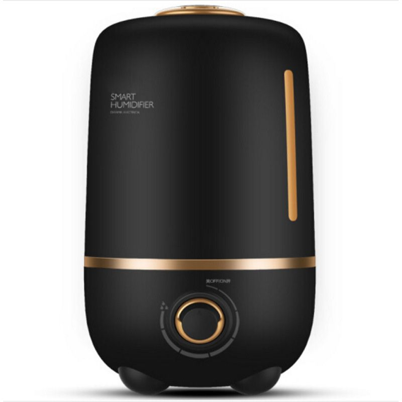 DMWD Ultra Quiet 4L Mini Ultrasonic Humidifier Air Purifier Aromatherapy Essential Oil Diffuser For Home Auto Shut-off 220V
