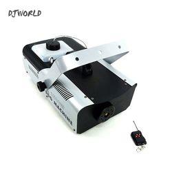سلك التحكم عن بعد 1500 W آلة لصنع الدخان المرحلة الضباب آلة DMX512 جيدة ل DJ ديسكو المعدات Dmx أضواء