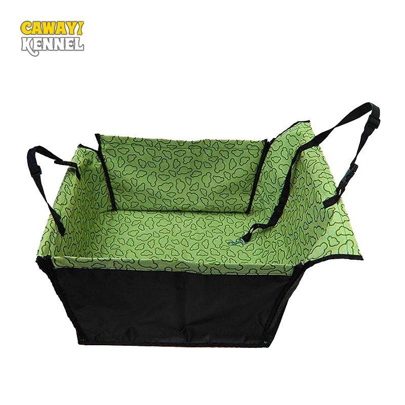 CAWAYI CHENIL PVC Étanche Petit Chien Chat Voiture Seat Mat Cover Couverture Arrière Retour Chien Voiture Siège Protection Hamac d0041