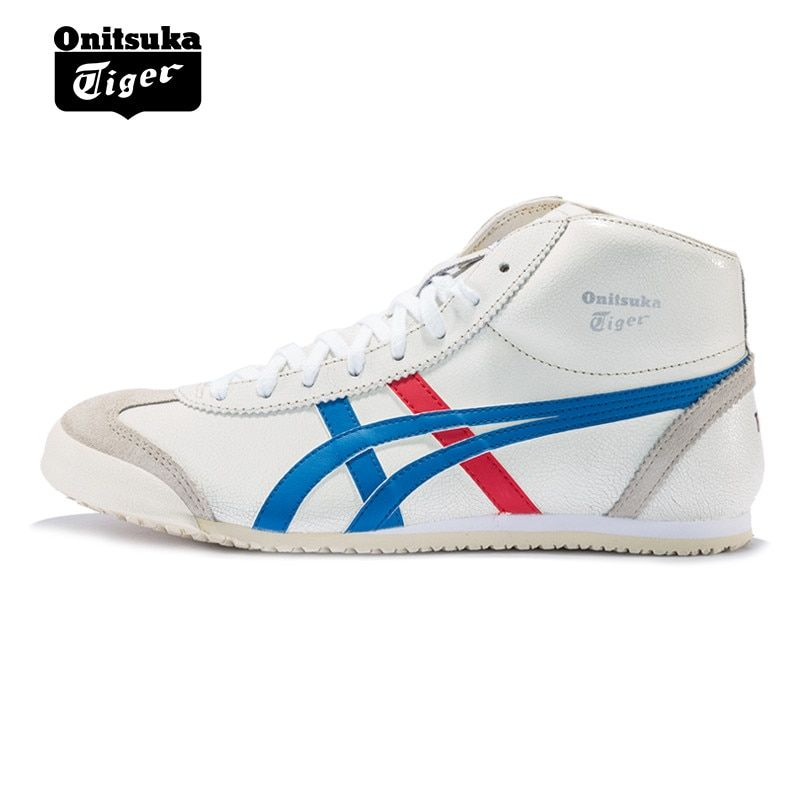 Onitsuka Tiger MEXICO 66 Men's Anti-Slippery Shoes Unisex Shoes Lightweight Breathable Women High Upper Sneakers THL328-0142