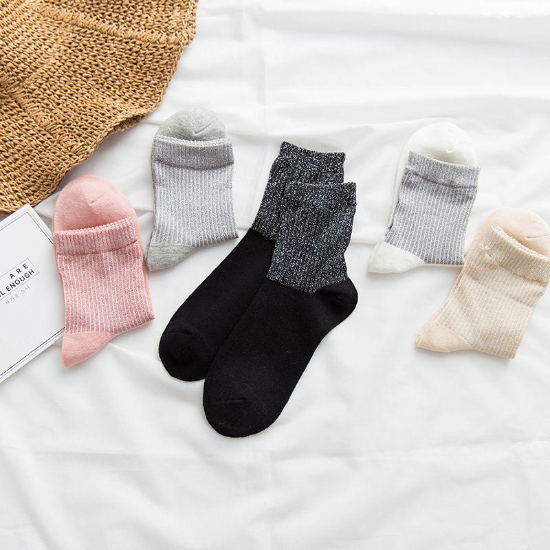 Free Shipping 2017  women's winter cotton warm socks thermal thicken winter socks towel  5 pairs