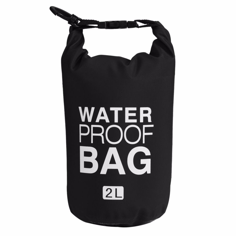 2L/5L/10L Waterproof Bags Travel Drift Waterproof Organizer Bucket Bag Dry Bag For Outdoor Drifting Beach Sea Single Shoulder
