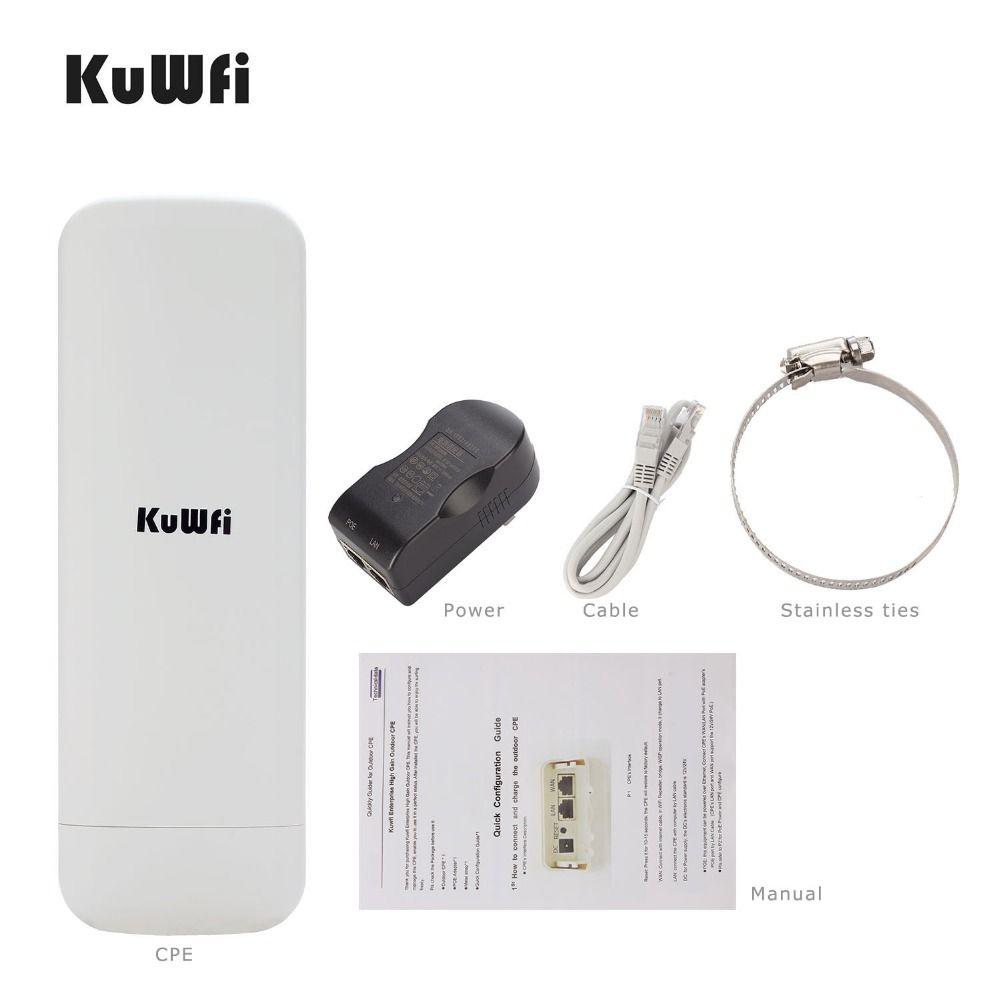 3 KM Long Range Extérieure CPE routeur wifi 2.4 GHz 300 Mbps Point d'accès sans fil répéteur wi-fi Point D'accès prolongateur wifi Pont Client Routeur