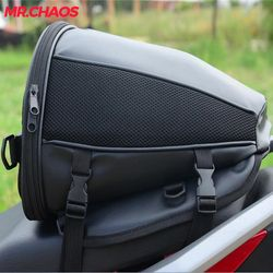 Motorcycle Tail Bag Motorbike Seat Back Bag Saddle Bag Rear Seat Package custom made Moto Motorbike Travel Saddle Tail Handbag