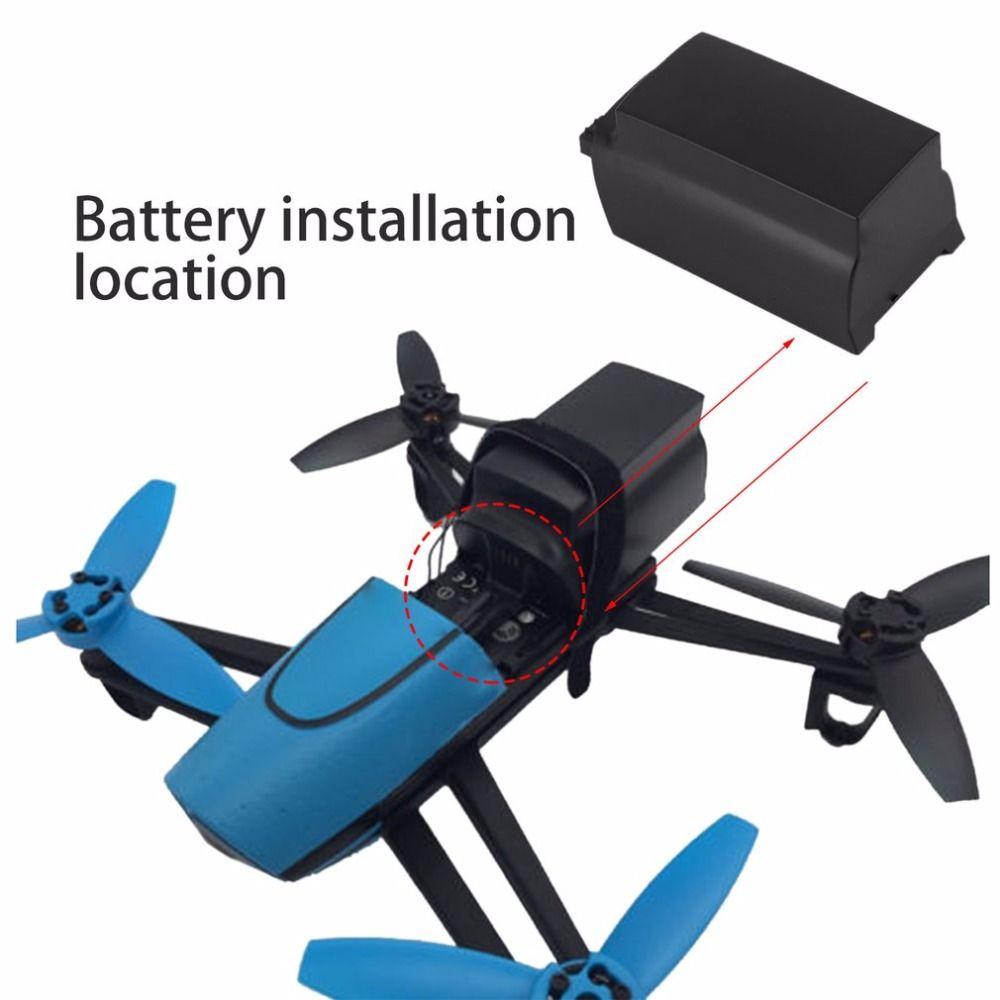 2500 mAh 11,1 V 10C Kontinuierliche Entladung Große Kapazität Lipo Batterie Drone Backup-ersatz-akku Für Parrot Bebop Drone 3,0