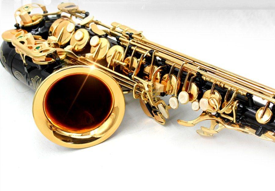 New High Quality Saxophone Alto Sax SAS- 54 alto saxophone Musical Instruments Professional E flat Sax Blac Kickel Gold Shipping