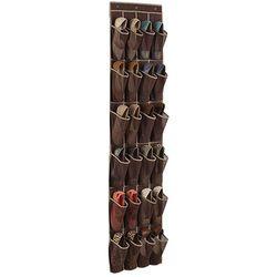 24 bolsillo sobre la puerta organizador del zapato colgante de almacenamiento espacio Saver hanger