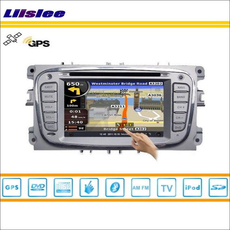 Liiselee Auto Android Multimedia Für Ford Focus Für Mondeo Kuga Radio CD Dvd GPS Navigation Audio Video S160 System