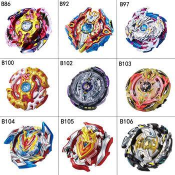 1 pcs 17 style Beyblade Burst B104 B105 Metal Fusion 4D avec Lanceur Beyblade Burst Toupie Cadeau De Noël Pour Enfants jouets
