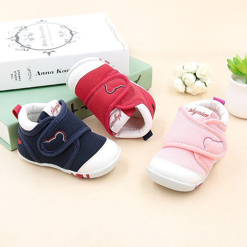 Phynier весна и осень обувь ребенка малыша мягкий подошва холст ребенок кеды детская обувь 1-3 лет малыша обувь