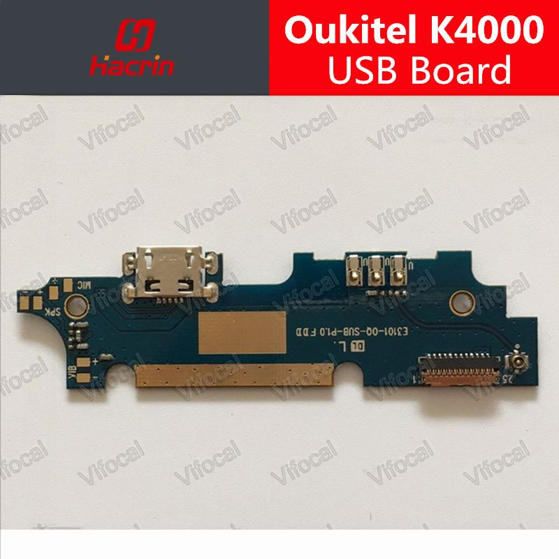 Oukitel K4000 USB Conseil 100% Nouveau usb carte de charge de prise Accessoires pour Oukitel K4000 Lite Mobile Téléphone