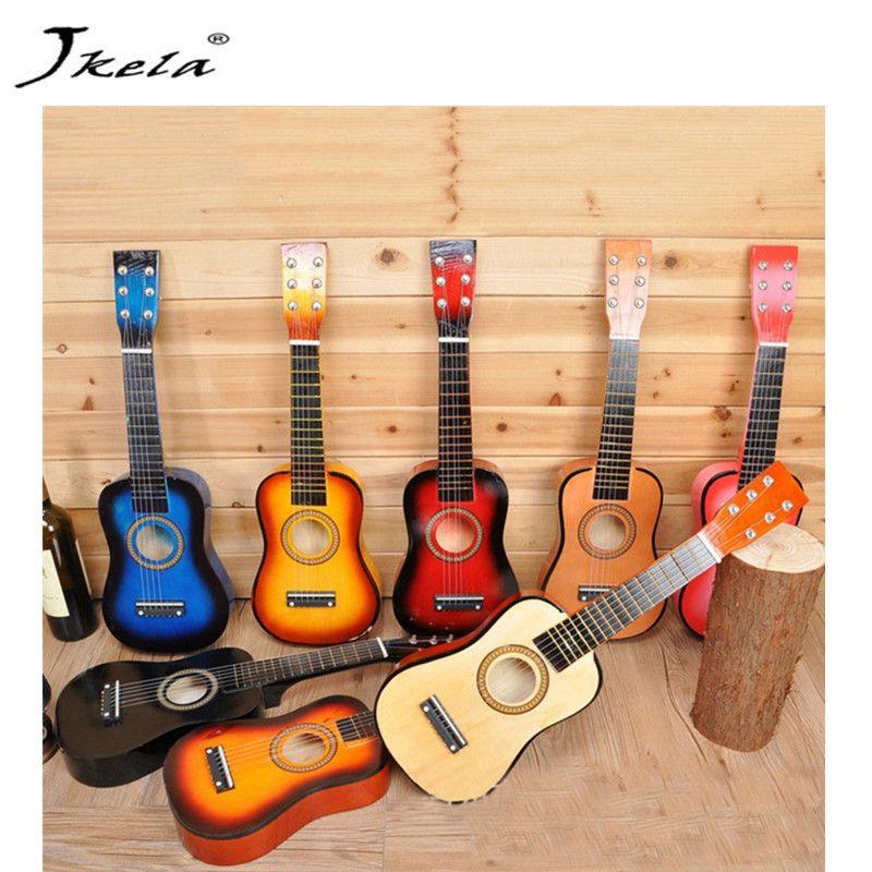 23 pouces enfants guitare peut jouer le type de bébé guitare cadeau d'anniversaire enfants Instruments de musique jouets sonores