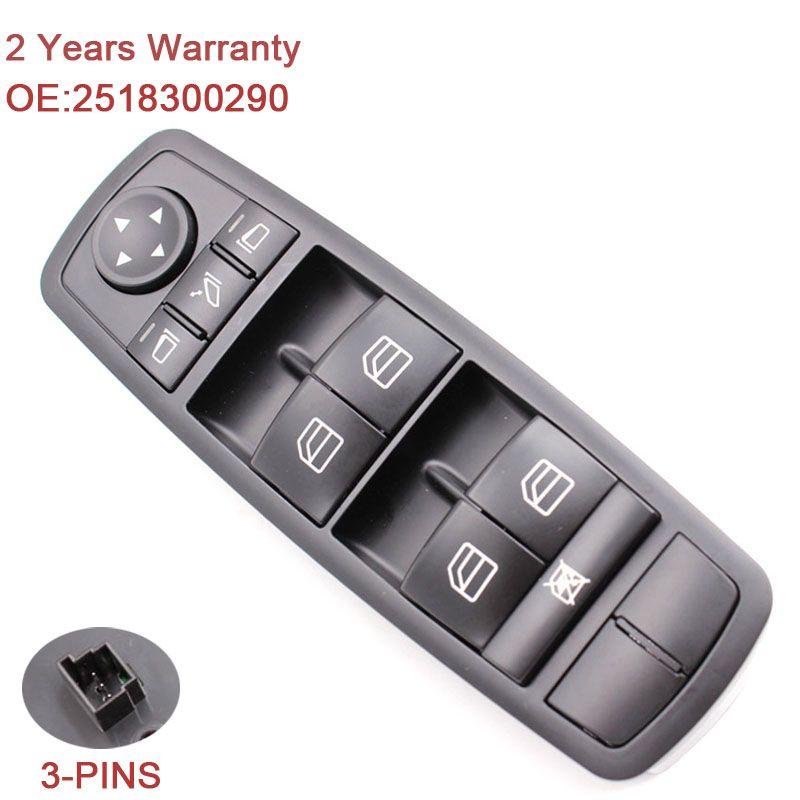 2518300290 Master Power Window Switch A2518300290 A 251 830 02 90 For Mercedes W164 GL320 GL350 GL450 ML320 ML350 ML450 ML500 R
