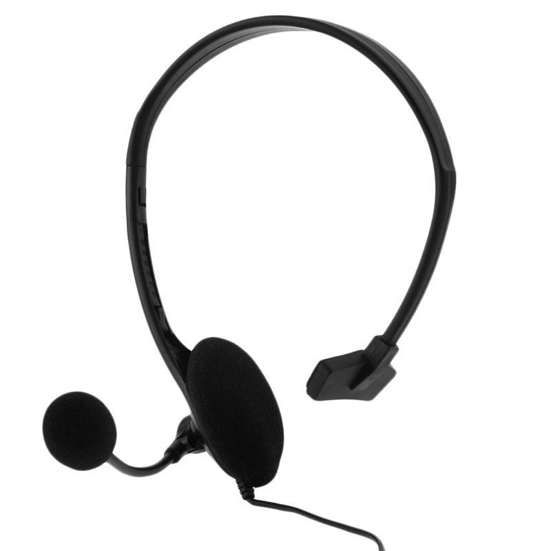 3,5mm Verdrahtete Chat Gaming Spiel Headset Kopfhörer Kopfhörer Earpeice Headfone Casque Für PS4 Controller