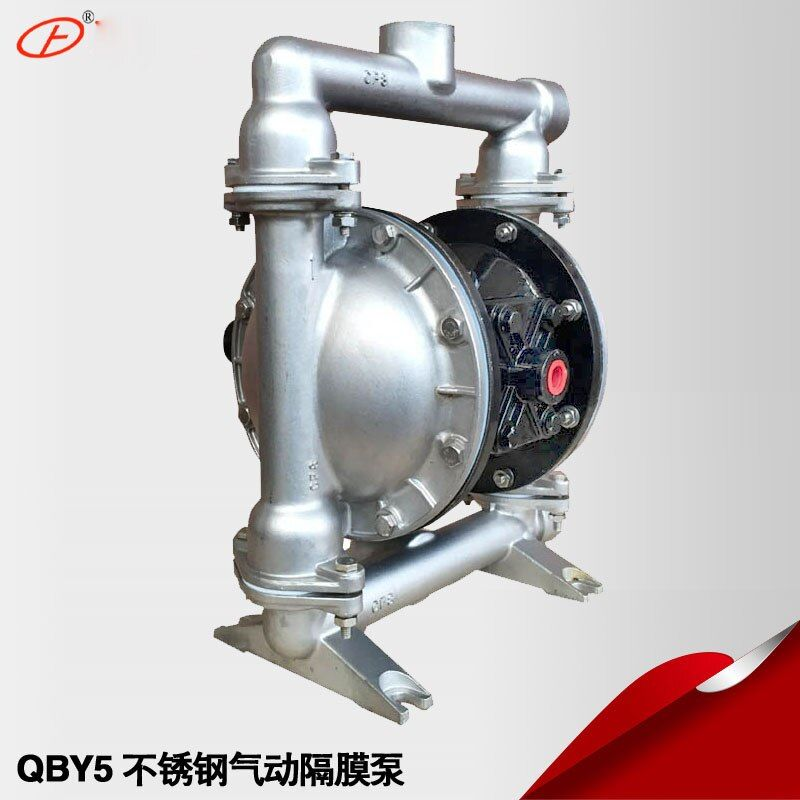 QBY-25P 304 stainless steel pneumatic diaphragm pump for Various chemicals feed solution
