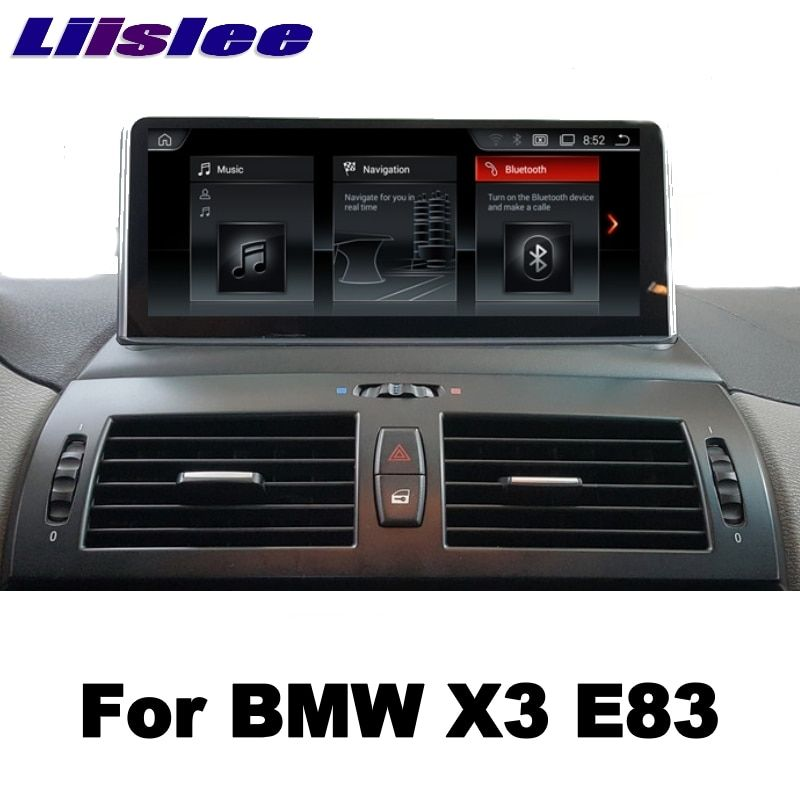 LiisLee 10.25Android For BMW X3 E83 2003~2010 Car Multimedia GPS Map Audio Radio Stereo Original Style Navigation NAVI