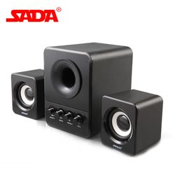 Original D-203 Combination Speaker is Suitable for Desktop Computer Mobile Phone Notebook USB2.1 Bass Free Shipping