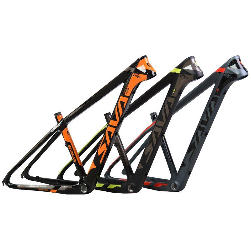 SAVA 29 Carbon fahrrad rahmen 29er Carbon mtb Rahmen 650B Glänzend Carbon Mountainbike Rahmen 27,5 29er mtb rahmen Größe 15/17/19