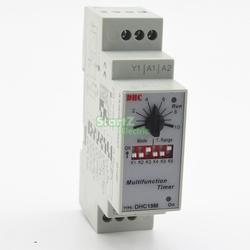 Multifonction Minuterie Relais Commutateur 0.6 S-100 H AC/DC 24-240 V (50/60Hz)