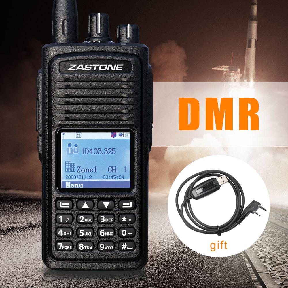 Zastone D900 Two Way Radio UHF 400-480MHz DMR Digital Radio 1000 Channels Digital Walkie Talkie Hf Transceiver