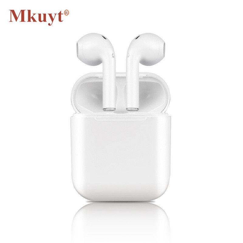 MKUYT I9S Wireless Earphone Portable Bluetooth Headset Invisible Earbud Headphone for IPhone 8 7 Plus 7 6 6s 5 and Android PK I7