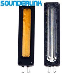 2PCS/Lot Sounderlink supper slim flat speaker high power ribbon tweeter planar transducer AMT speaker D