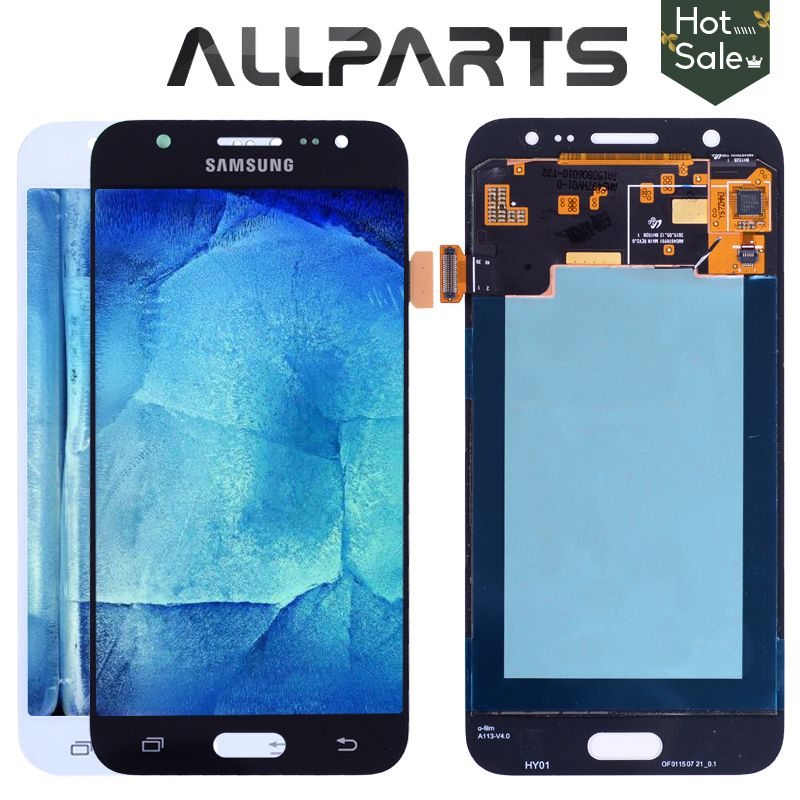 5'' AMOLED LCD for SAMSUNG Galaxy J5 2015 J500 LCD Display J500H J500FN J500F J500M SM-J500F Touch Screen Digitizer