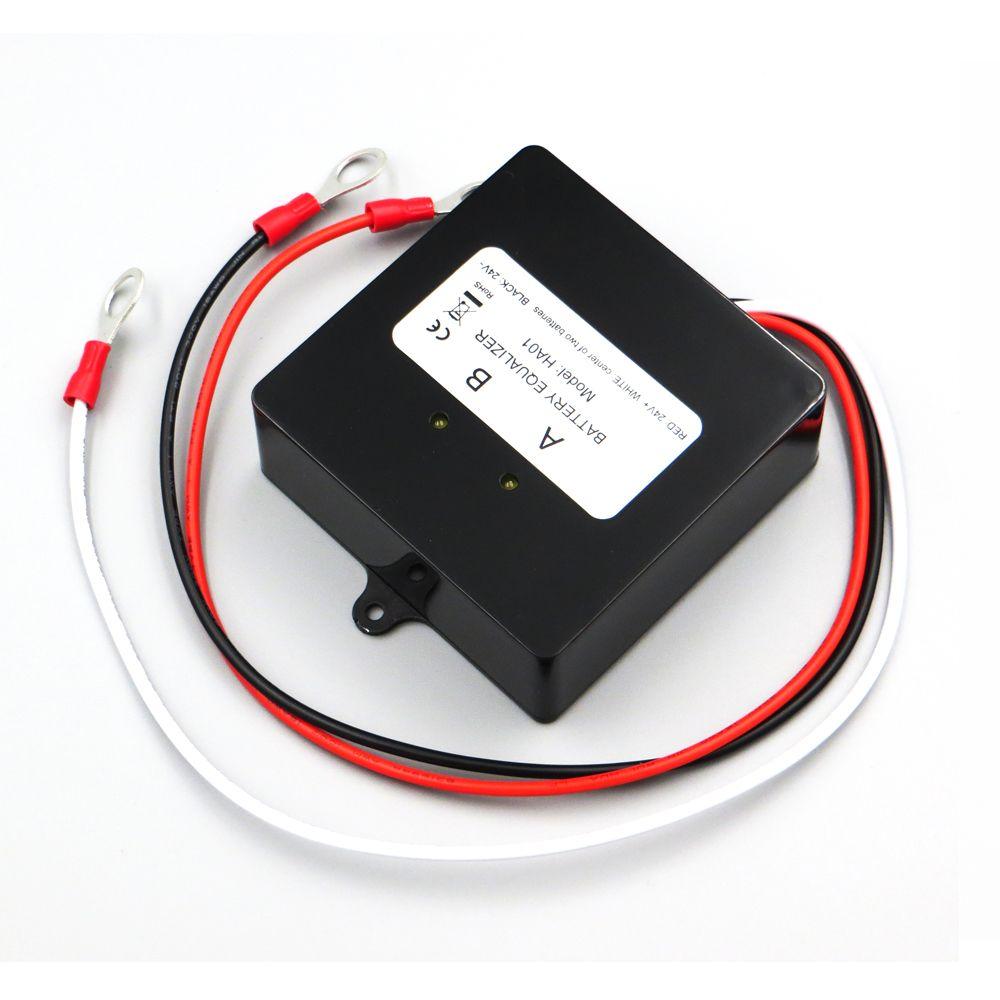 Battery equalizer 2 X 12V used for lead-acid battery Balancer charger for 12V 24V