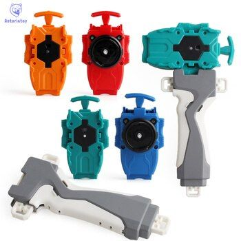 4 couleur 1 pc Beyblade poignée + Lanceur Accessoires En Plastique Puzzle Jouets Pour Enfants