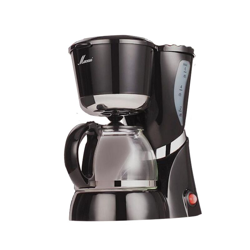 Automatic Drip Coffee Machine expresso High-quality multifunctional Electric Coffee Maker with Water Window 550W