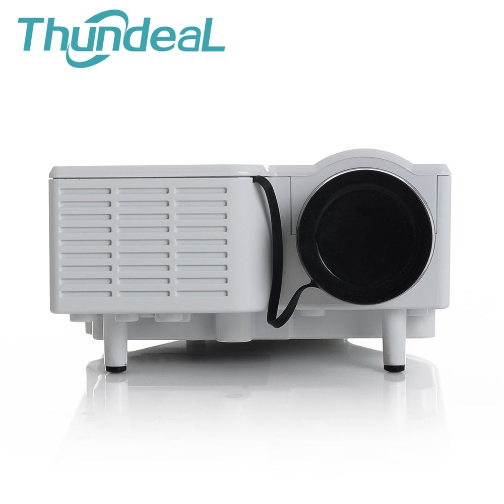 Unic Mini Projector UC28 Up To UC28+ Portable LED Poryector Beamer Cinema Theater Support PC Laptop VGA USB SD AV HDMI