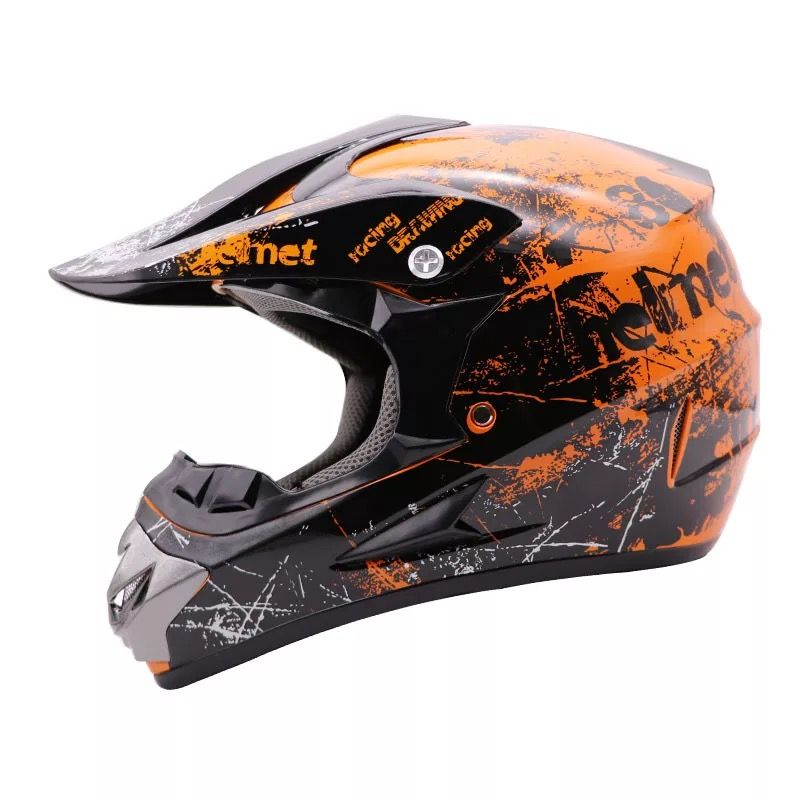 Free Shipping and 3 Gifts New Motorcycle Helmet Male Motorcycle Top Hat Top Quality Cross Off-Road Motorcycle Cross Dot approved