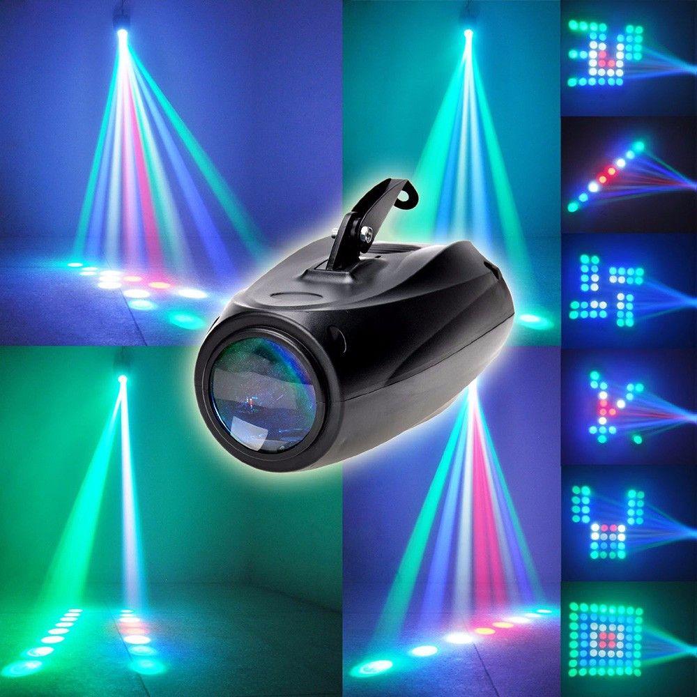 ZjRight Automatique/contrôle Sonore 64 Led RGBW Disco Lumière D'étape Magique Changement de Modèle de barre de DJ Effet D'éclairage de Fête d'anniversaire spectacle de mariage