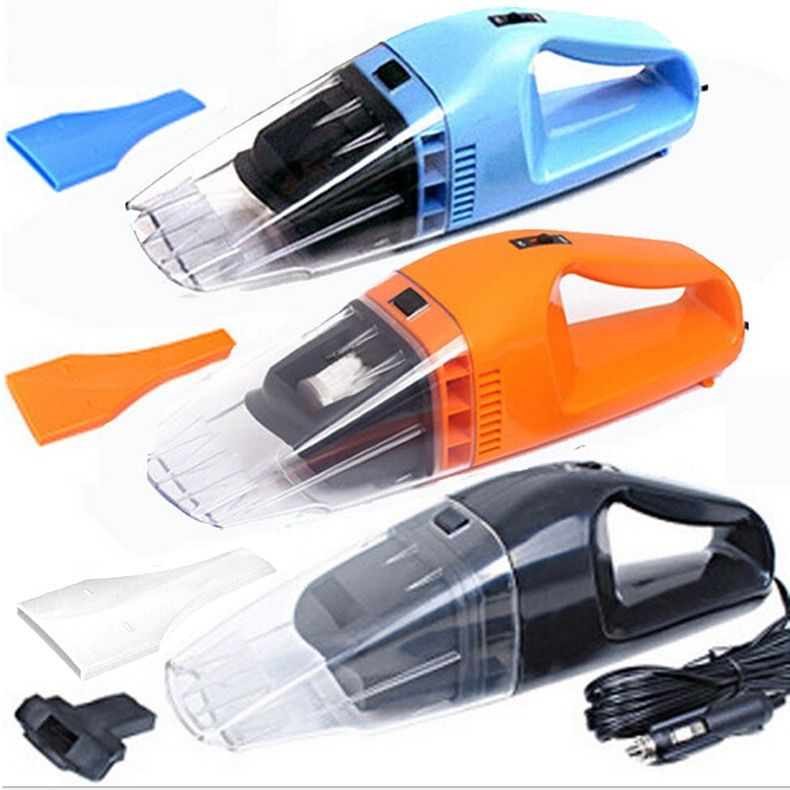 New Portable Car Vacuum Cleaner 100W Wet Dry Amphibious Handheld Cyclonic Dust Hand Vacuum Cleaner 12V CSL2017