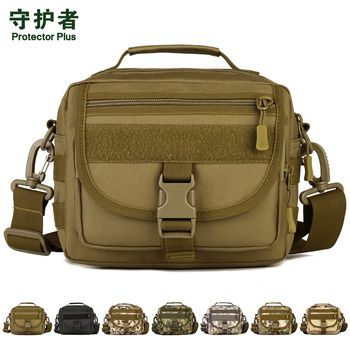 Tactical Shoulder Bag Protector Plus K315 Sports Bag Military Molle EDC Pouch Camouflage Nylon Outdoor Hiking Cycling Bag