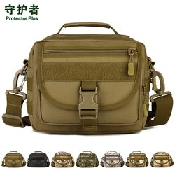 Taktis Tas Bahu Protector Plus K315 Tas Olahraga Militer Molle EDC Kantong Kamuflase Nilon Kolam Bersepeda Tas