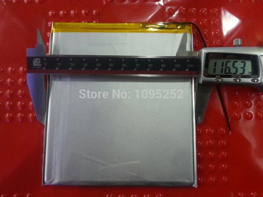 Freies verschiffen große kapazität 3,7 V tablet batterie 8000 mah jede marke tablet universal wiederaufladbare lithium-batteries36116135