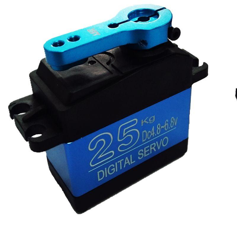 Free Shipping NEW DS3325MG update RC servo 25KG full metal gear digital servo baja servo Waterproof version for cars RC toys